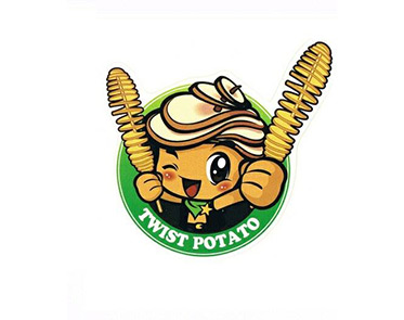 Twist Potato bbr festival logo