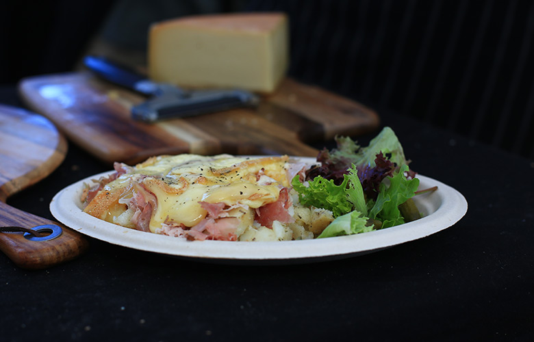 frencheese bbr festival raclette raclette plate