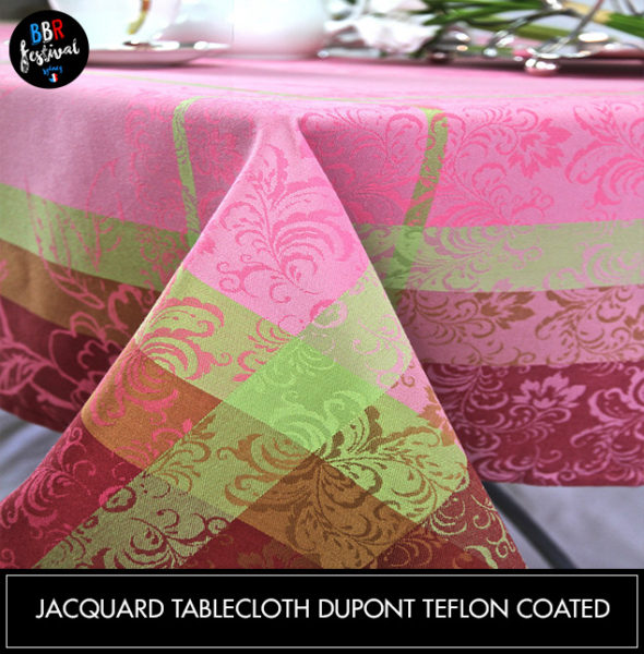 Jacquard-tablecloth-Dupont-teflon-coated1
