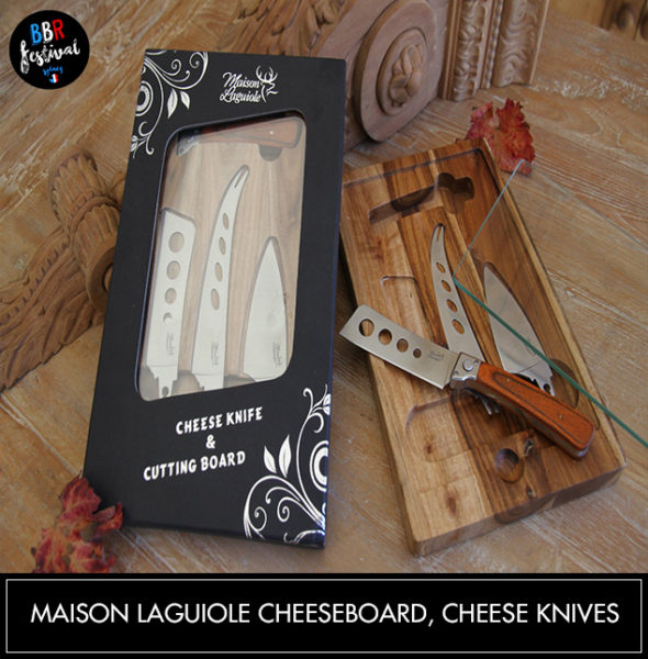 Maison-Laguiole-cheeseboard,-cheese-knives-&-glass