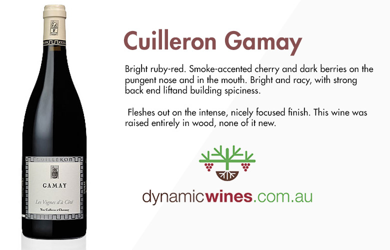 cuilleron-gamay dynamic wines bbr festival